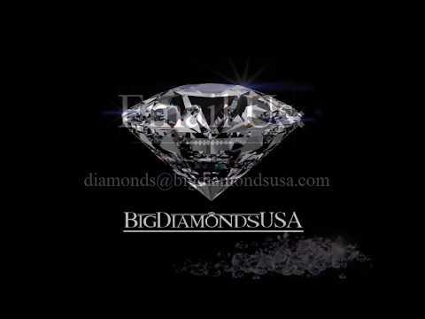 4.15 Carat Clarity Enhanced Diamond Engagement Ring - Oval Cut | BigDiamondsUSA
