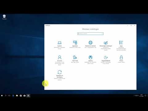 Windows 10: software verwijderen