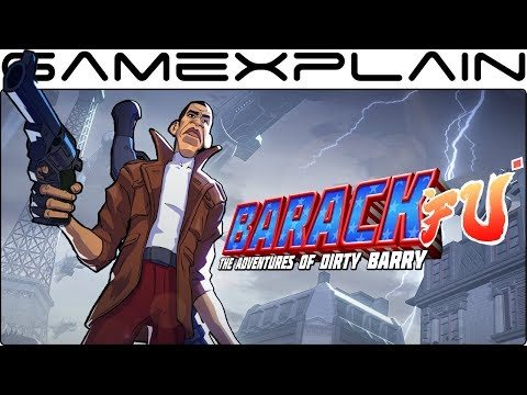 Barack Obama in Shaq Fu DLC?! 30 Minutes of Barack Fu: The Adventures of Dirty Barry Gameplay