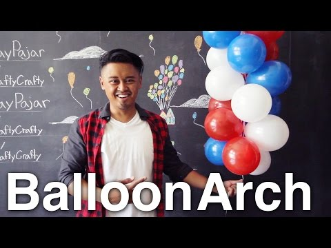 How to Make a Balloon Arch!!