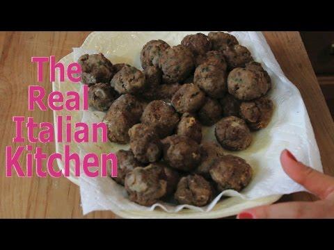 Meatball Recipe - SUPER TENDER - Real Italian Kitchen