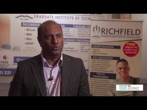 Business Day TV SME Summit: Richfield on helping to develop SA