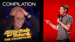 LOL! These Comedians Might Make You Cry... From Laughter! - America's Got Talent: The Champions