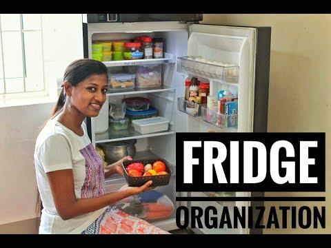 Fridge organization/How to store vegetables fresh for longer days/Indian Fridge tour