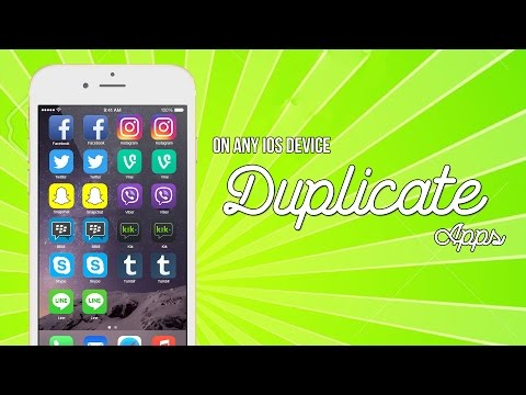 Install Duplicate apps for free on iPhone/iPad/iPod Touch without Jailbreak [How to]