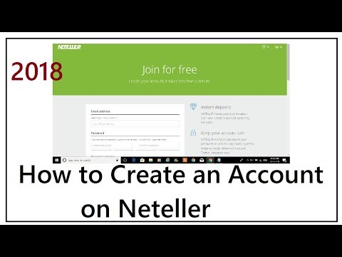 How to Create An Account on Neteller