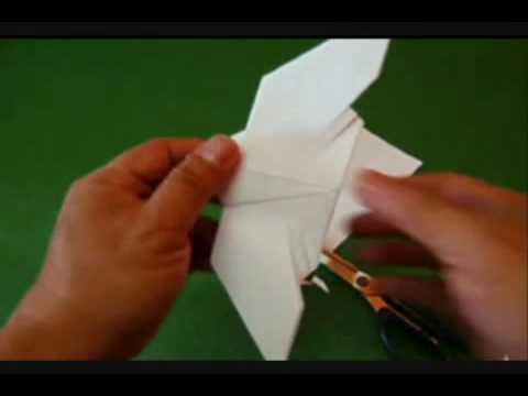 HOW TO MAKE ORIGAMI FIGHTER PLANES