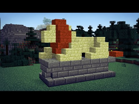 Small Lion Statue in MINECRAFT