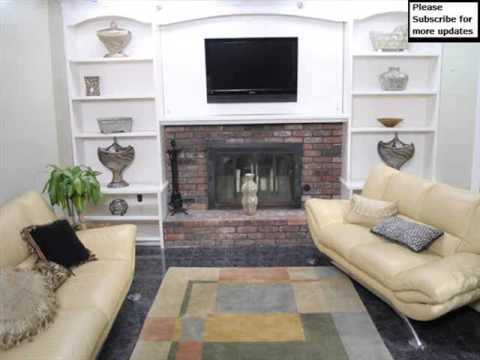 Shelving Around Fireplace |Wall Storage Shelves Picture Collection