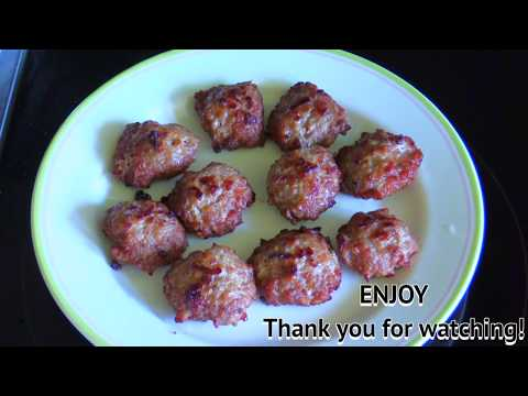 Fried Minced Pork with Garlic and Oyster Sauce : Thai Food Part 75