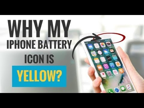 Why My iPhone Battery Icon is Yellow? (And How to Change it Back)