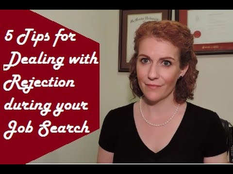 5 Tips for Dealing with Rejection during your Job Search