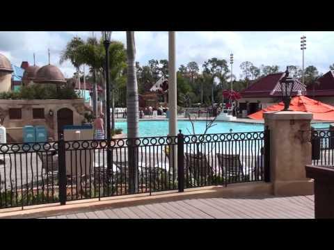 Disney's Caribbean Beach Resort Tour - February 2010