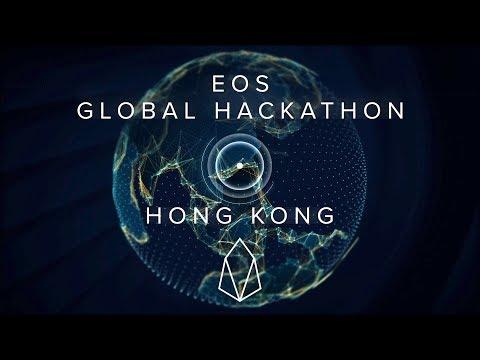 EOS Global Hackathon Awards Ceremony - Hong Kong, June 9-10