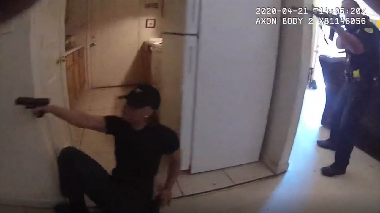 Raw footage: NOPD officer shot in apartment raid