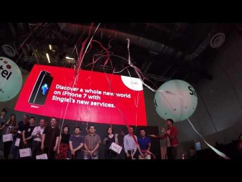 Singtel iPhone 7 Launch Event