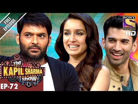 The Kapil Sharma Show -दी कपिल शर्मा शो- Ep-72-Aditya and Shraddha Kapoor In Kapil Show–7th Jan 2017