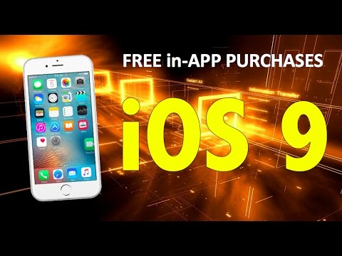 How to get FREE in-APP Purchases on iOS 9!!! Unlimited iAP's! Free!!! (No Computer)