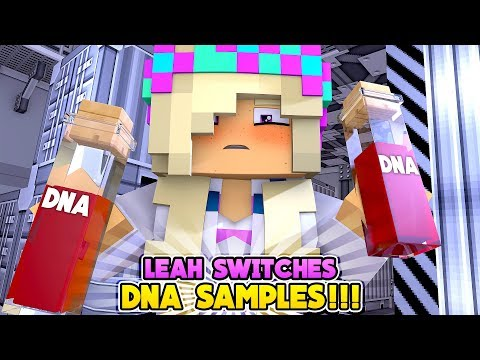 Minecraft LEAH SABOTAGES THE PATERNITY DNA TEST!!!- Donny & Leah Adventures