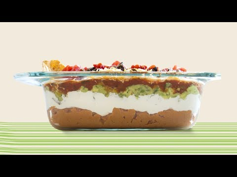 How to Make 7 Layer Dip in 60 Seconds