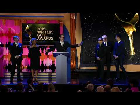 Hollywood Game Night wins the 2018 Writers Guild Award for Quiz & Audience Participation