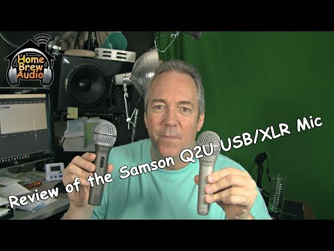 Review Of the Samson Q2U Microphone