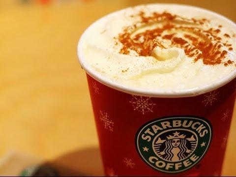 How to make a Starbucks Eggnog Latte