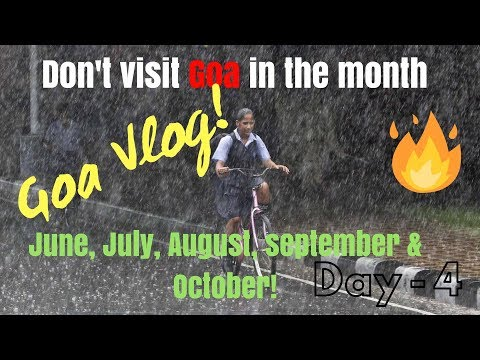 Goa Vlog Day 4 | Raining
