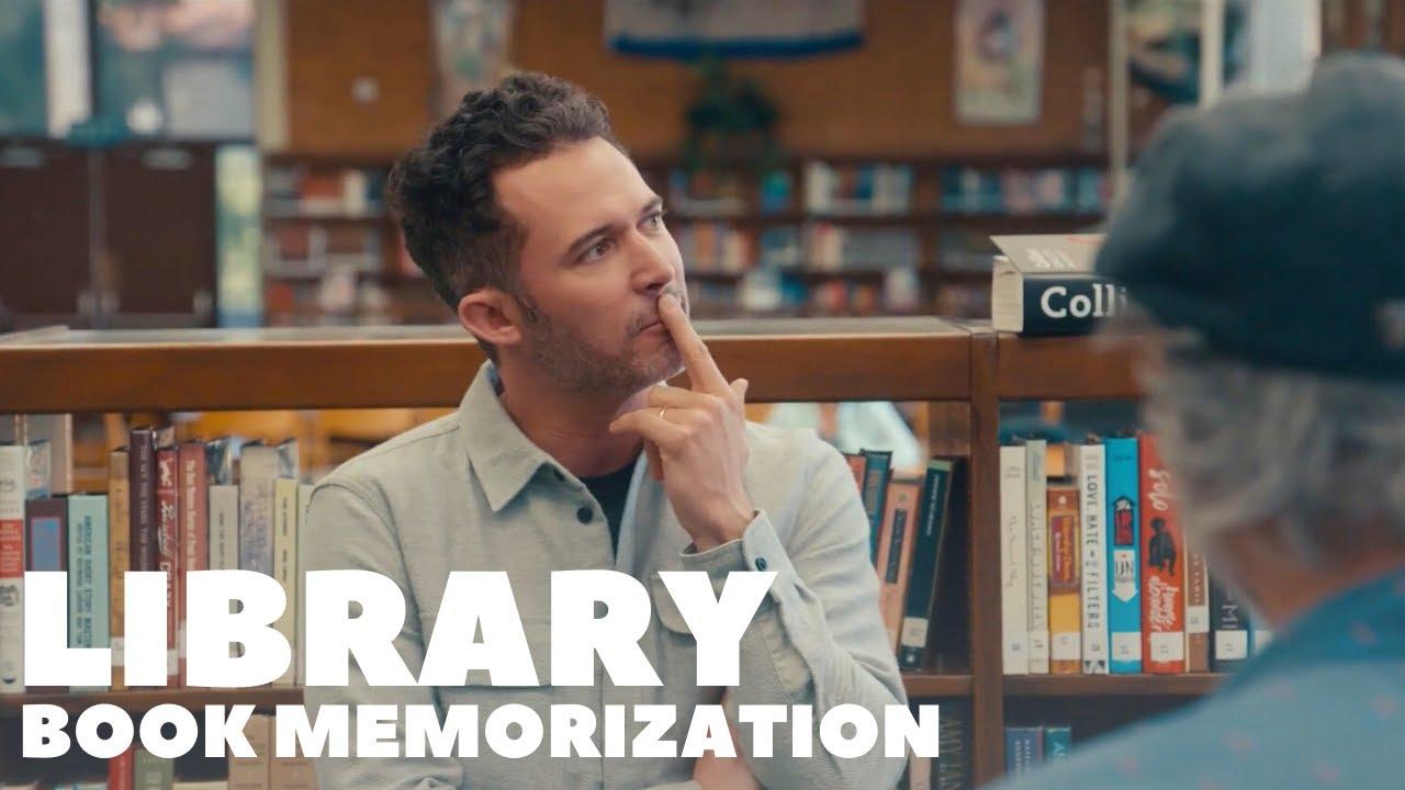Library Book Memorization   Magic for Humans