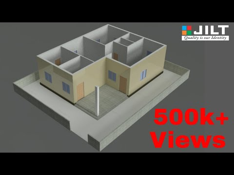 Create 3D HOUSE using Autocad in Easy steps - 1