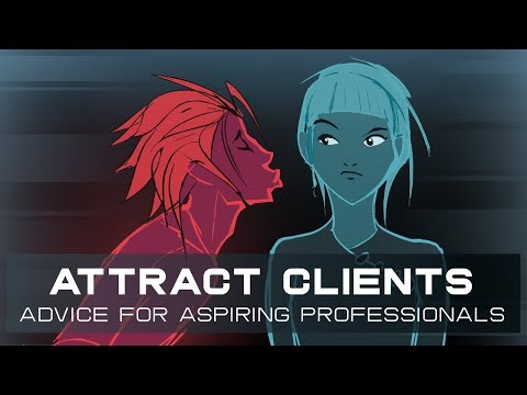 How to Attract Clients as an Artist / Animator (+ animation timelapse)