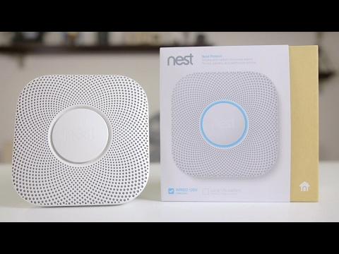 Nest Protect Smoke and Carbon Monoxide Alarm | Review & Setup (2017)