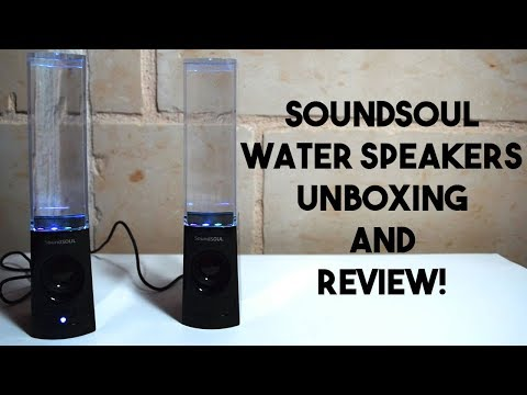 SoundSOUL SS_BT_001 Water Speakers Unboxing and Review!