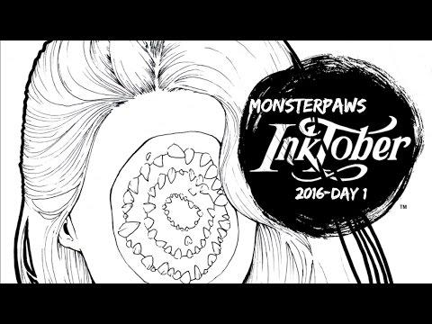 INKTOBER DAY 1!