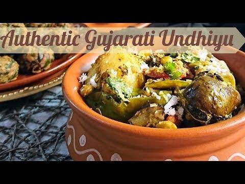 Undhiyu Recipe   authentic gujarati undhiyu recipe in hindi   how to make undhiyo   undhiyu recipe