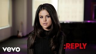 Selena Gomez - ASK:REPLY (Part 1)