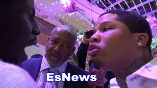 ((Real Beef)) Gervonta Davis & Tevin Farmer Go Nose to Nose - esnews boxing