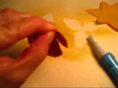 How to Make a Paper Daffodil Flower