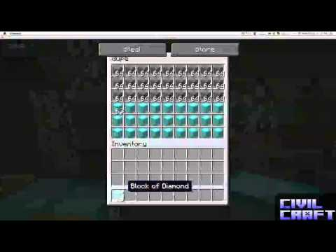 Virtual Chest Duplicating Minecraft [1.6.1]