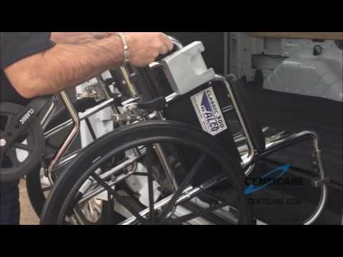 Bull Horn Foldable Wheelchair Handles