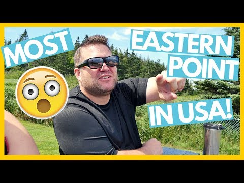MOST EASTERN POINT of the USA! 😮Full Time RV Living