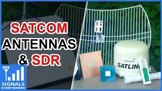 DVB-S/2 v8 Finder Digital Satellite Finder used as a Digital Amateur