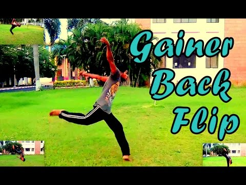 How to do Gainer Back Flip -step  by step Easy Tutorial