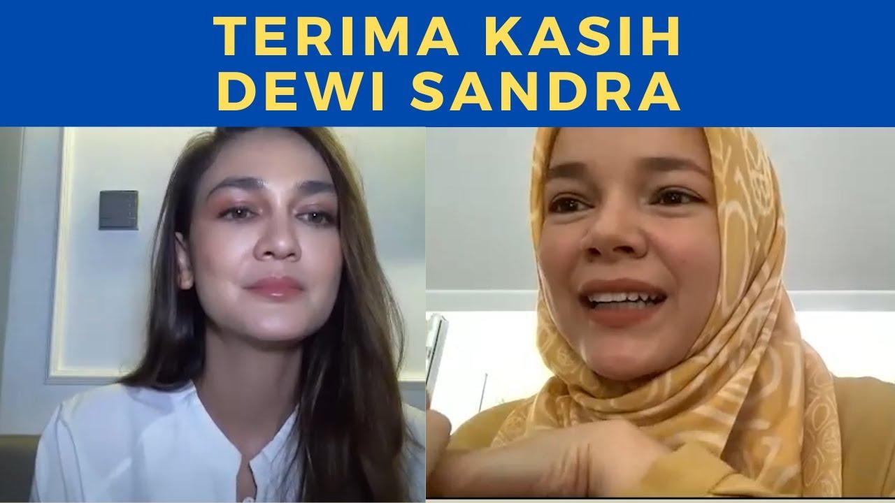 Download LUNA MAYA: TERIMA KASIH DEWI SANDRA AKU MERINDING... MP3 Gratis