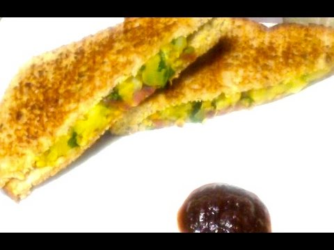 Masala sandwich, an easy way for breakfast and lunch box