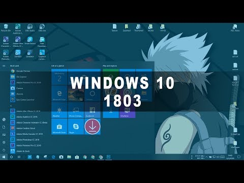 Download Windows 10 v.1803 Update!!! (NEW FEATURES & IMPROVEMENTS)