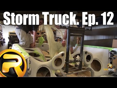 Storm Truck Project Episode 12 - Box Build: Custom Fiberglass Enclosures