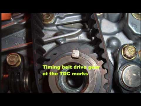 2001- 05 Honda Civic Timing Procedure D Series Engines