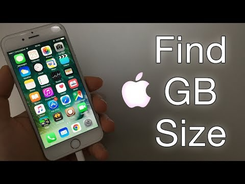 How to Find Out How Many GB My iPhone Is? 16, 32, 64, 128 or 256 GB