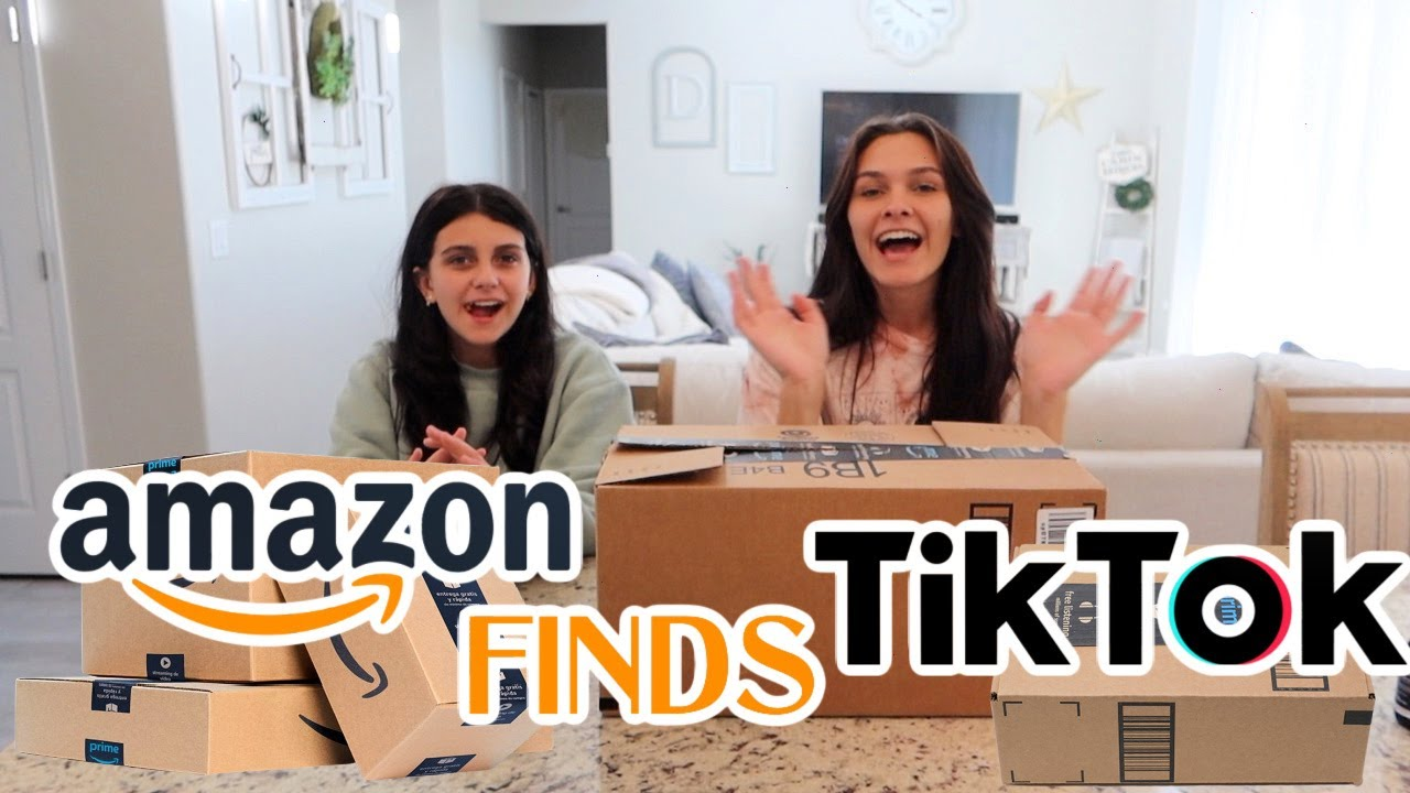 AMAZON MUST HAVES THAT'S SEEN ON TIKTOK! EMMA AND ELLIE